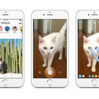 Instagram Stories se rapproche de Snapchat avec une section éphémère