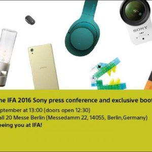 À l'IFA, Sony montrera au moins un smartphone et des accessoires