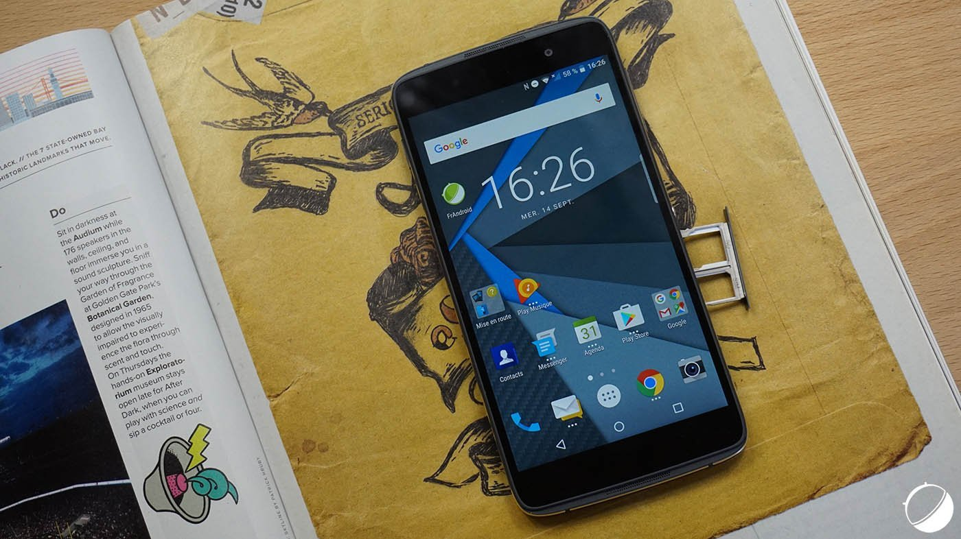 🔥 Bon Plan : le BlackBerry DTEK50 à 229 euros chez GrosBill