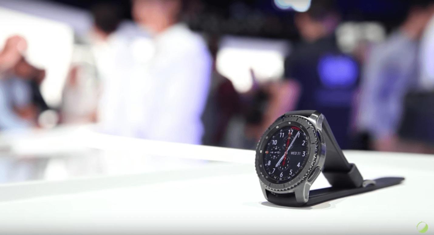 Vidéo : notre prise en main des Samsung Gear S3 Frontier et Classic