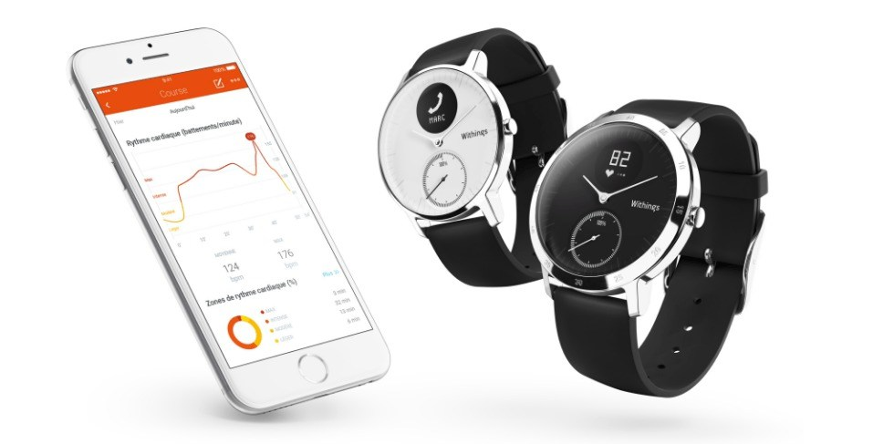 IFA 2016 : La nouvelle montre Withings Steel HR a droit à un petit écran