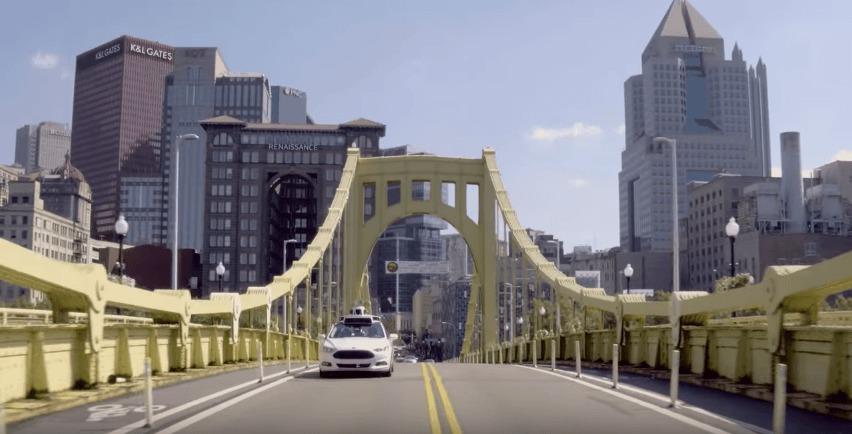 Uber lance sa flotte de voitures autonomes à Pittsburgh
