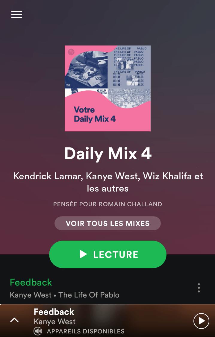 Spotify lance Daily Mix, les playlists personnalisées quotidiennes
