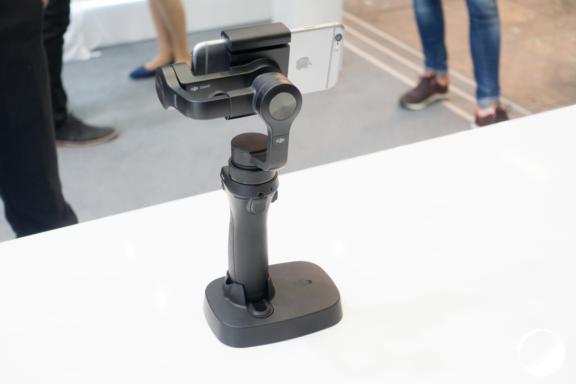 Prise en main : Osmo Mobile, et DJI rend inutile la stabilisation des smartphones