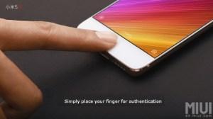 Xiaomi Mi 5s : zoom sur son capteur d'empreintes presque invisible