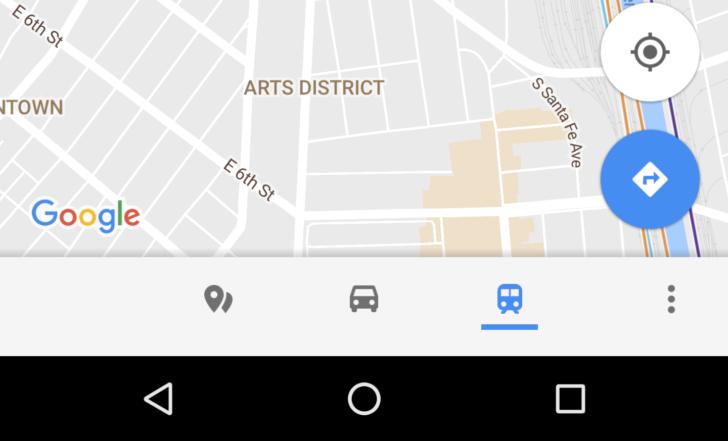 Google Maps s'offre une nouvelle barre d'options vraiment pratique