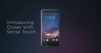 HTC Ocean : de nombreuses informations sur le smartphone aux tranches tactiles