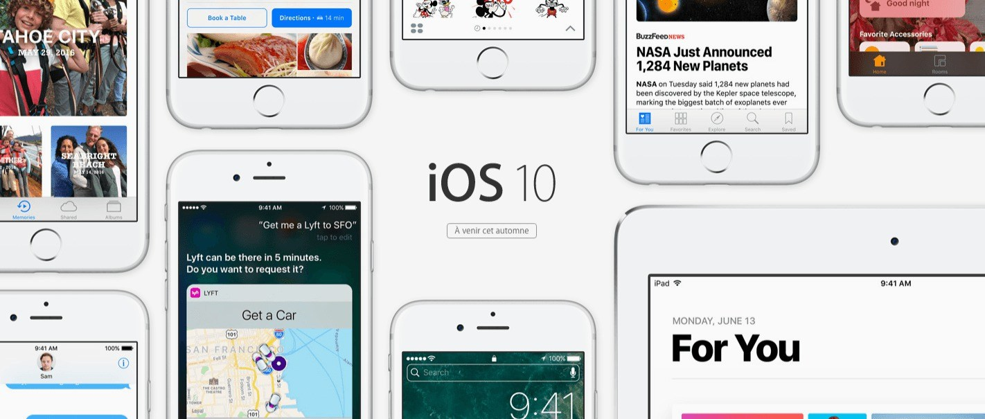 iOS 10 est disponible, mais pas pour tout le monde