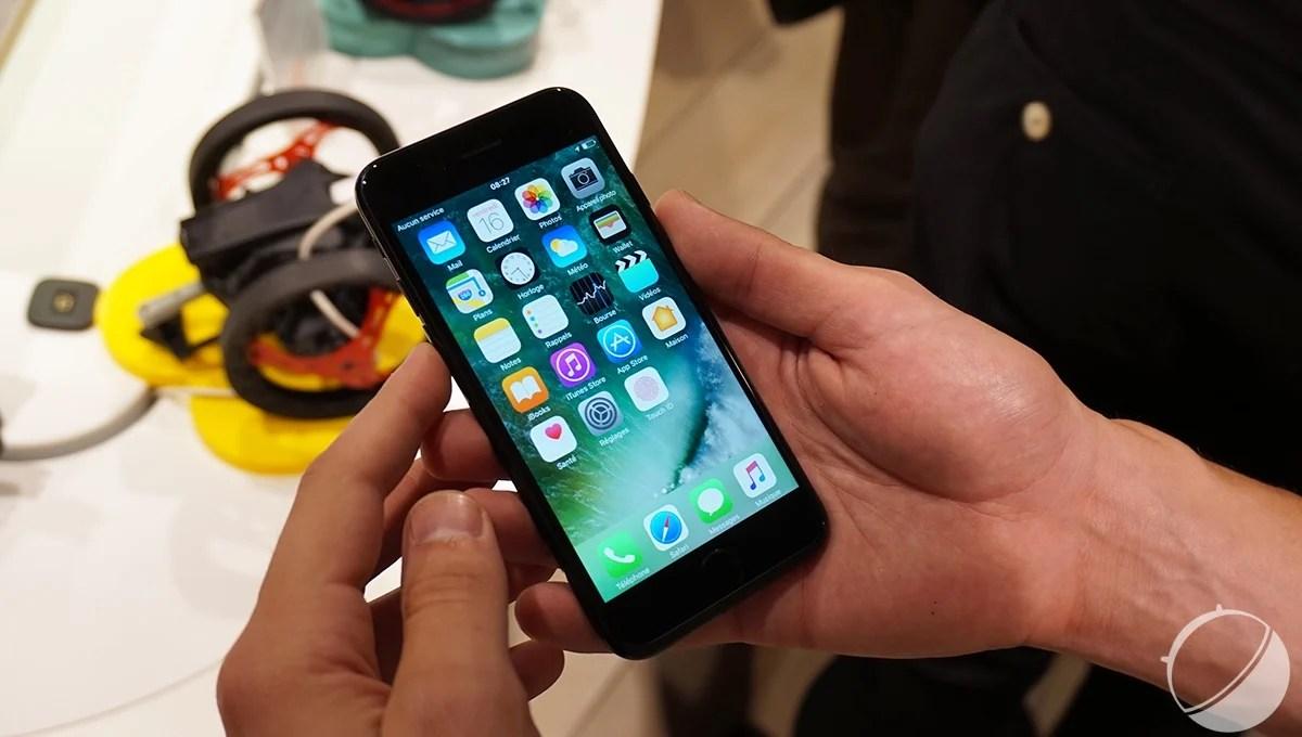 Prise en main des Apple iPhone 7 et iPhone 7 Plus