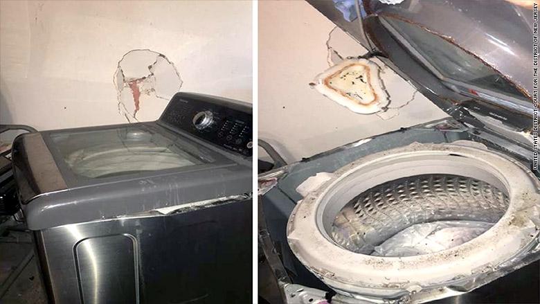 Ce sont maintenant les machines à laver qui explosent chez Samsung