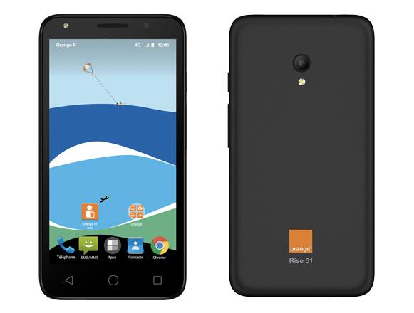 Orange Rise 51, de la 4G à moins de 90 euros