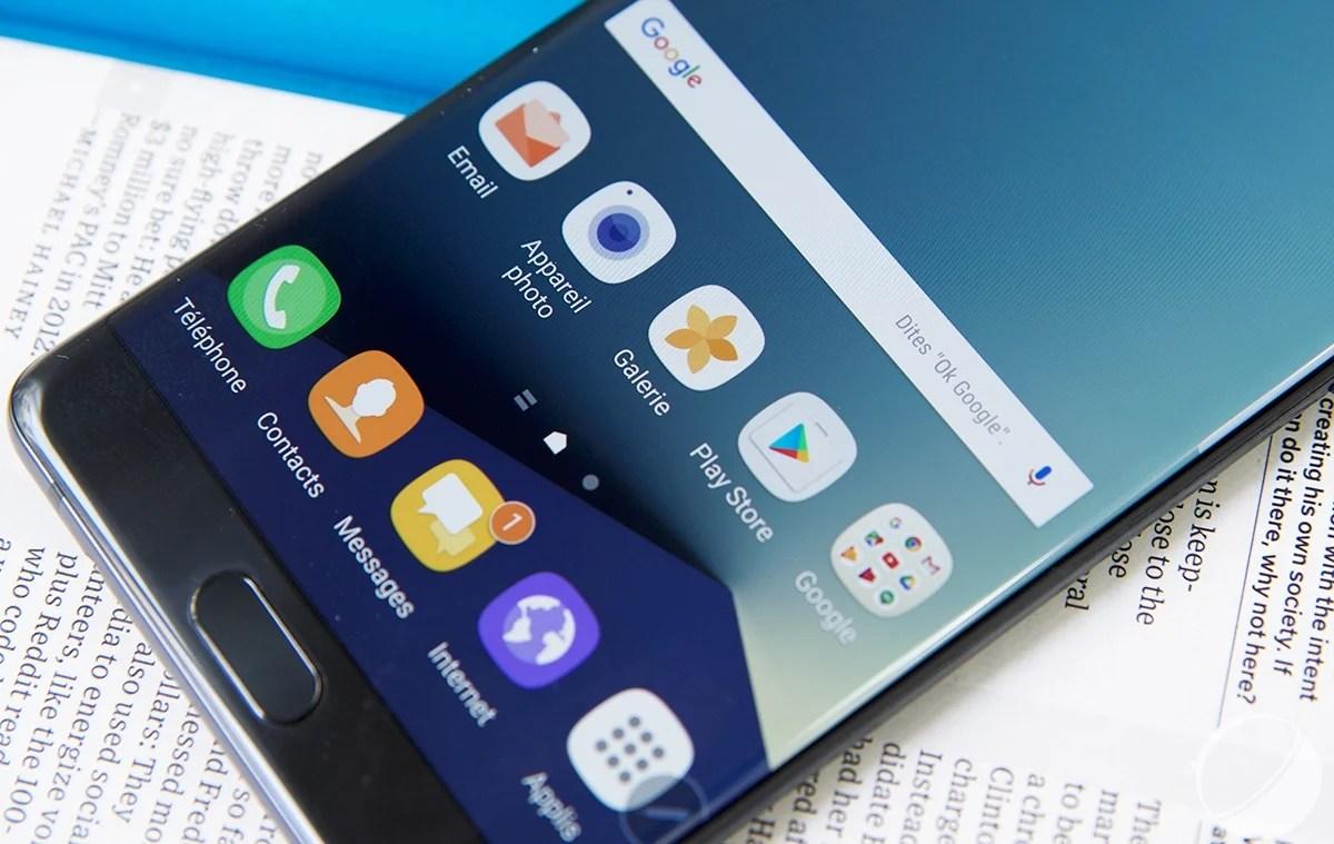 Samsung Galaxy Note 7 explosifs : clap de fin