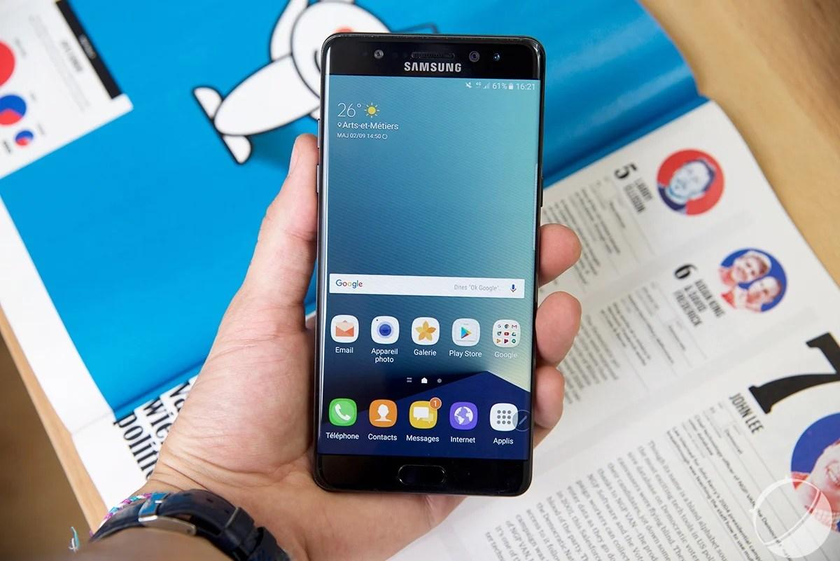6 actualités qui ont marqué la semaine : Galaxy Note 7, iPhone 7, mais pas seulement