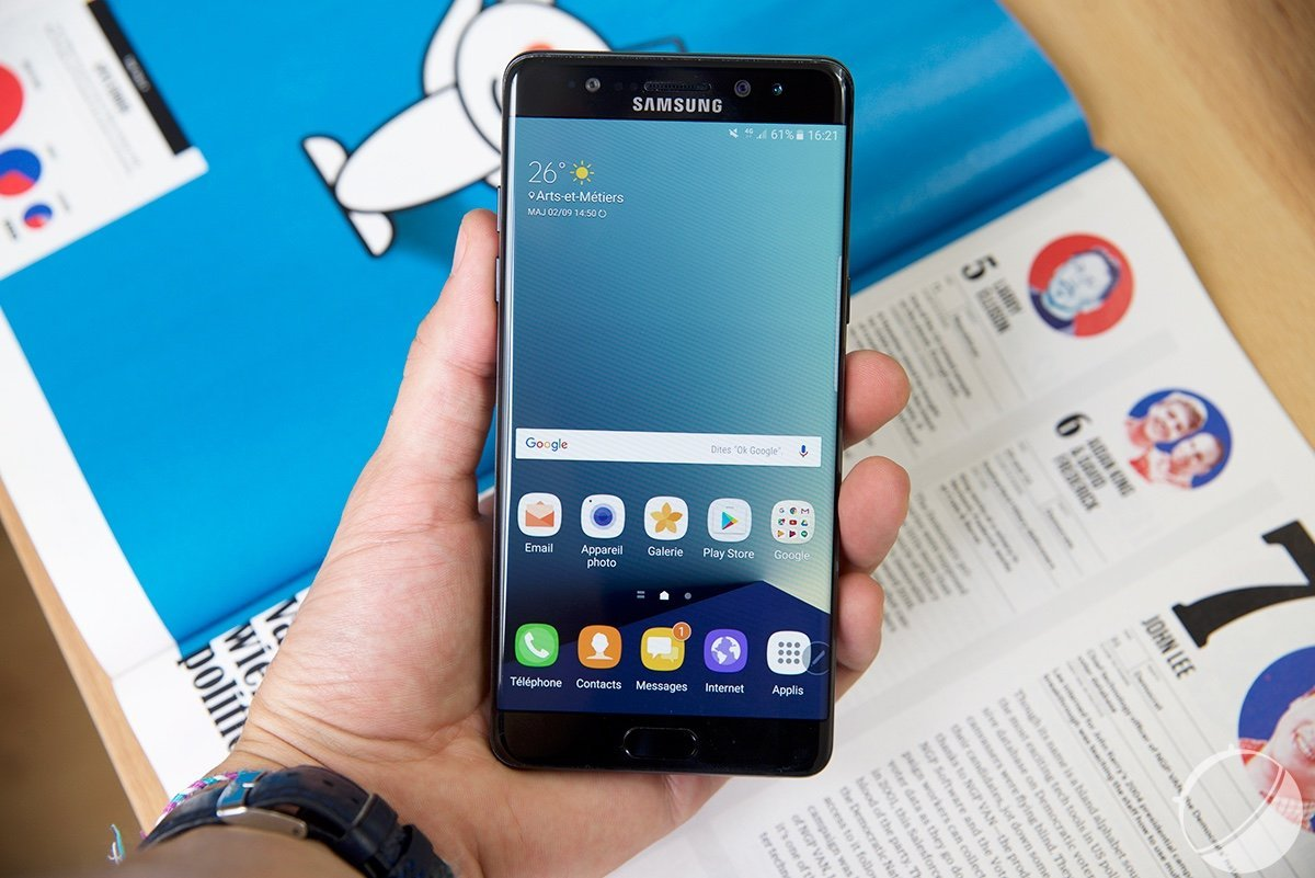 Test du Samsung Galaxy Note 7, le cocktail explosif