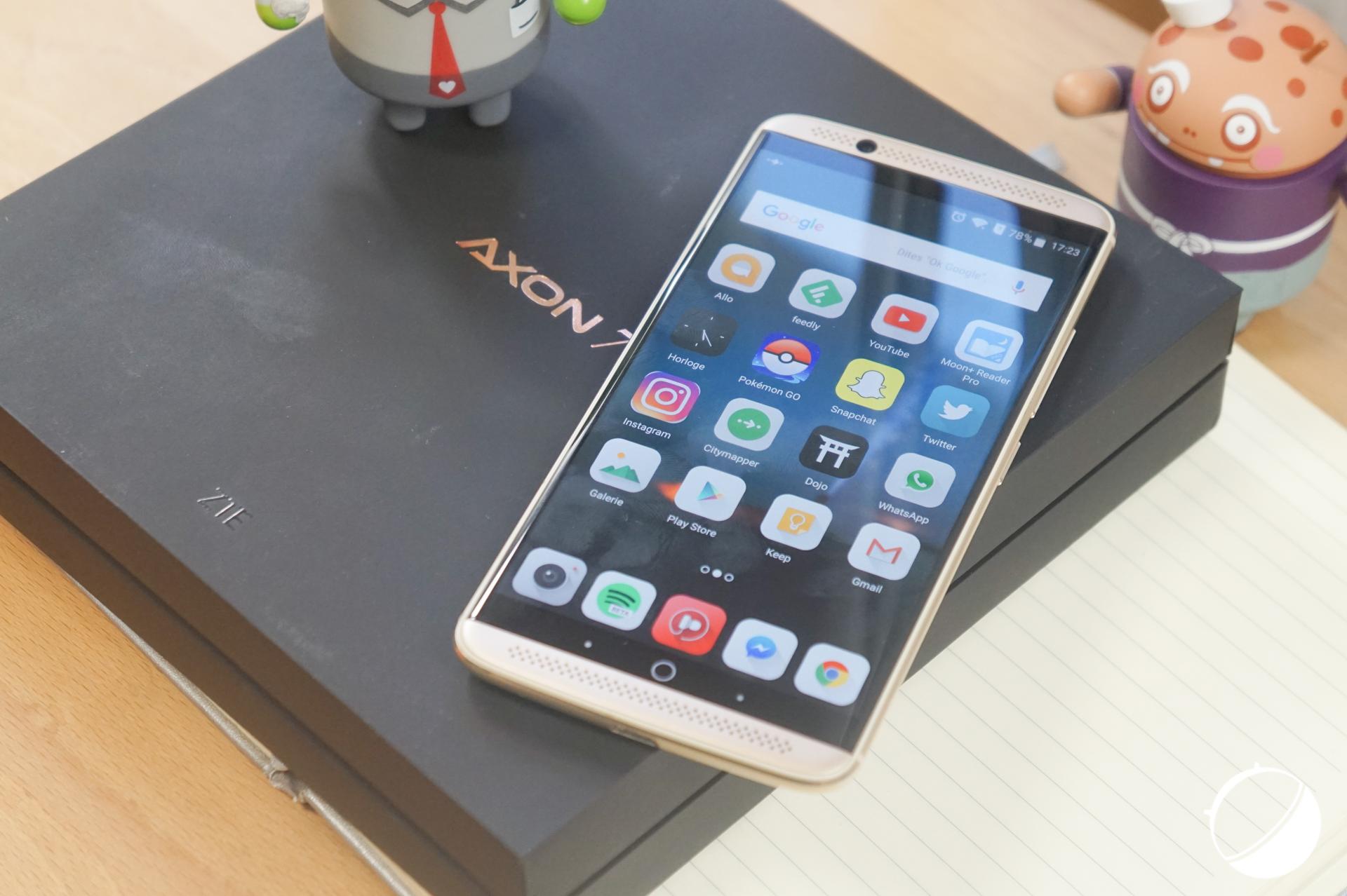 ZTE Axon 7 Enhanced : Force Touch et 128 Go de flash pour entraver le OnePlus 3T