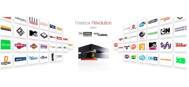 Free : Comment échapper à la hausse de l'offre Freebox Révolution et TV by Canal