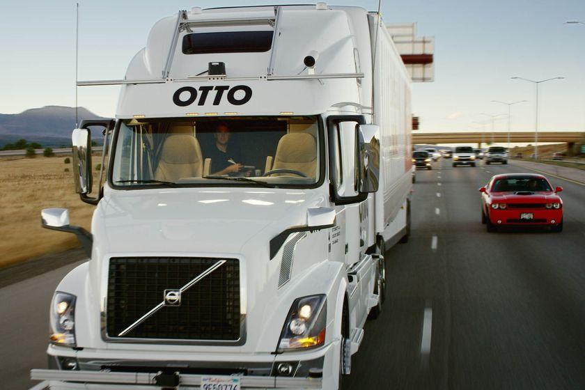 Uber réalise sa première livraison en camion autonome