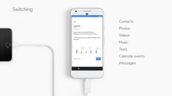 Google propose un adaptateur Lightning pour abandonner l'iPhone facilement