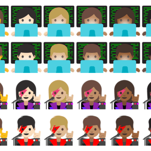Android 7.1 Nougat s'offre des emojis Google plus diversifiés