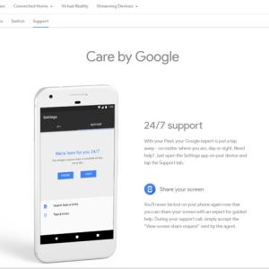 L'assistance 24h/24 et 7j/7 directement sur les Google Pixel