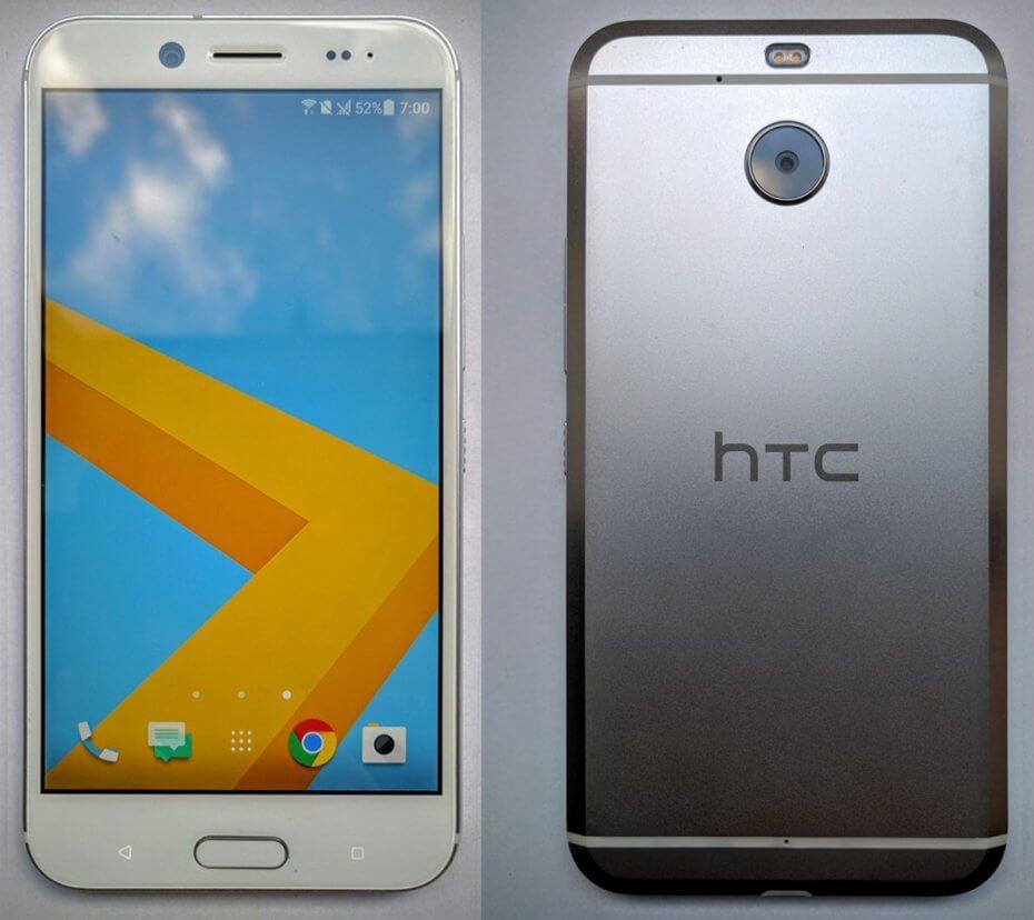 HTC Bolt : des photos pour ce HTC 10 sans port jack
