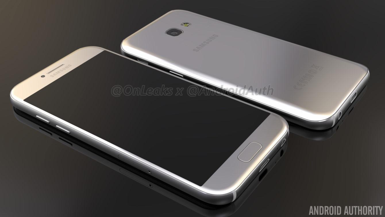 Le Samsung Galaxy A5 (2017) fuite en vidéo et reprend le design du Galaxy S7
