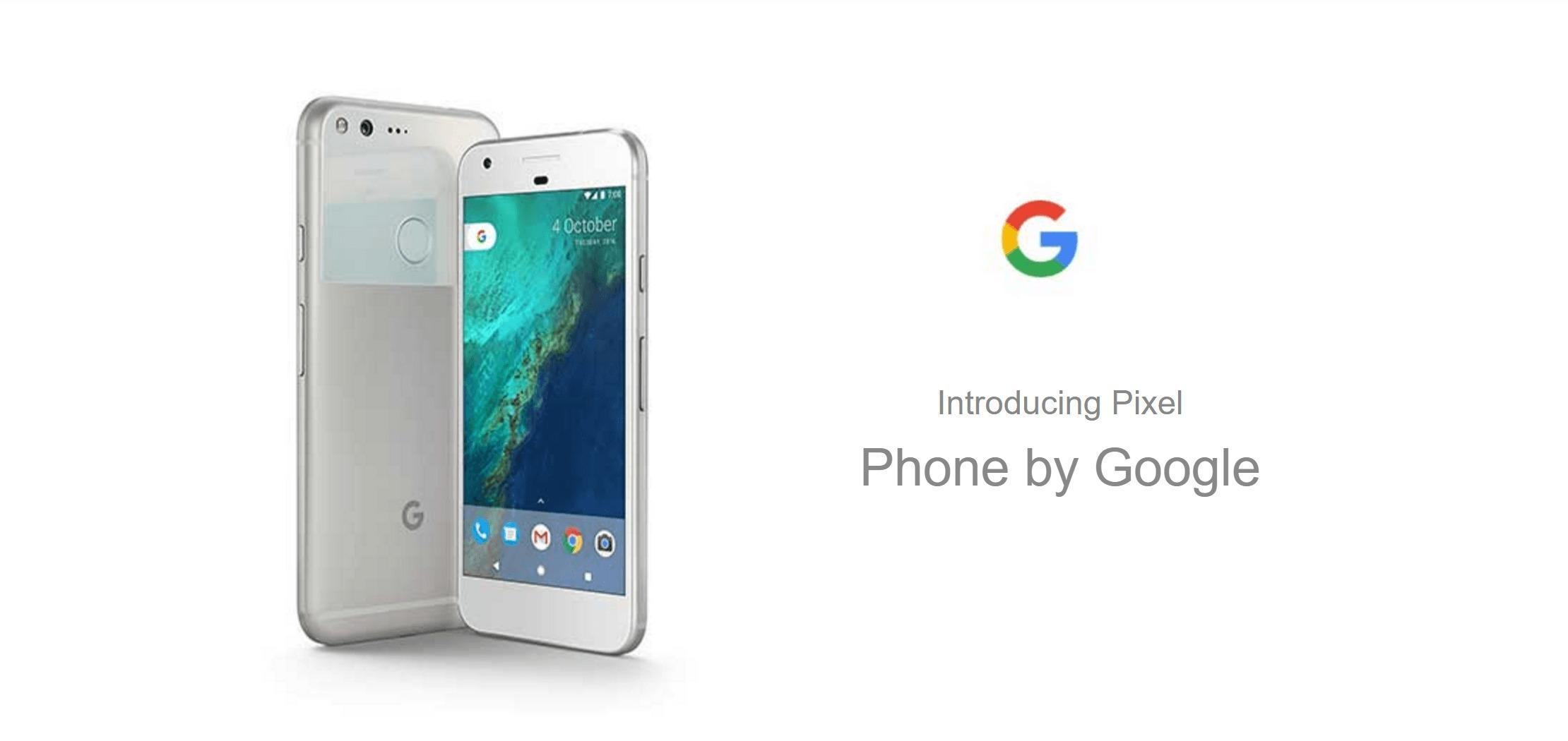 Les Google Pixel et Pixel XL dévoilés par erreur