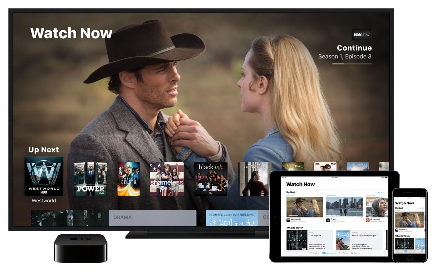 Apple a bien aimé Molotov, voici donc l'app TV