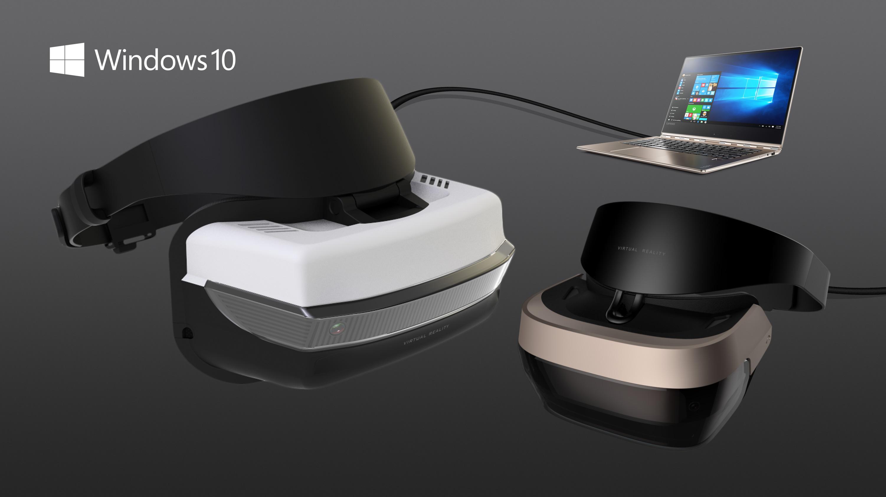 Microsoft annonce des casques de réalité virtuelle enfin abordables pour Windows