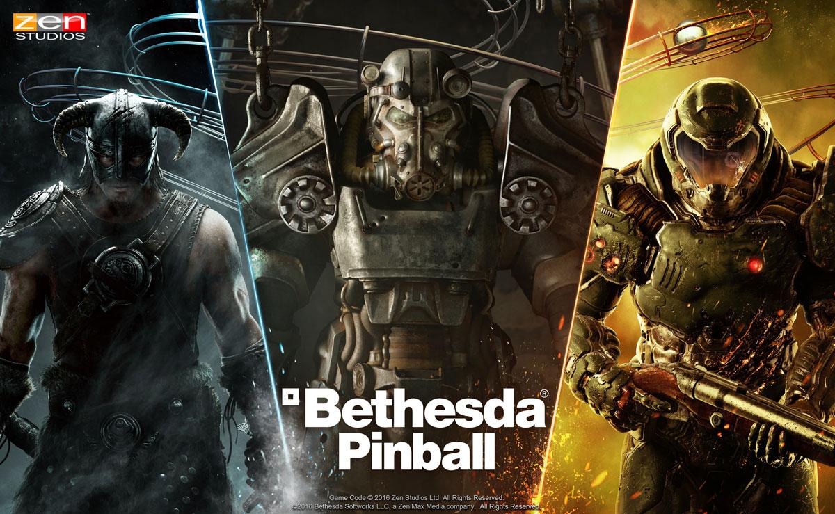 Bethesda Pinball : Skyrim, DOOM et Fallout s'invitent sous forme de flippers sur le Play Store