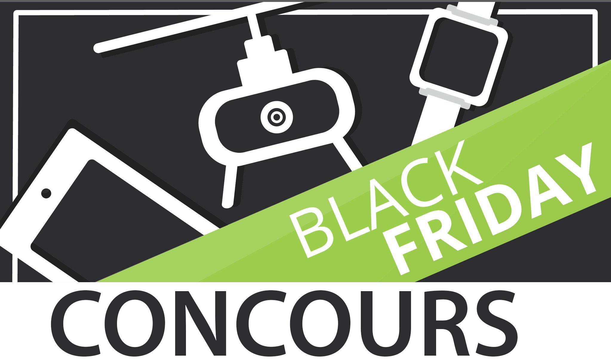 Jeu-concours Black Friday : remportez un smartphone d'une valeur de 500 euros