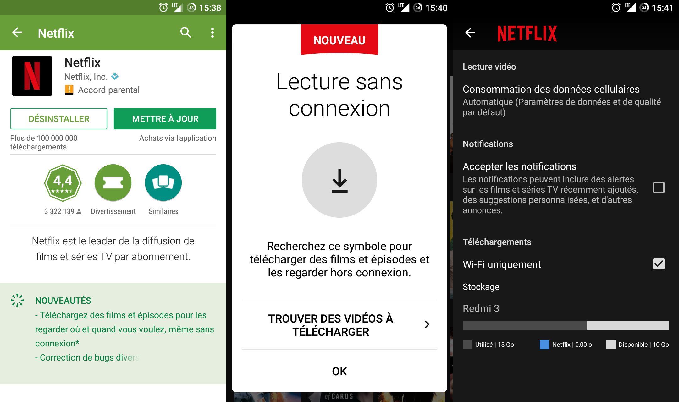 Netflix : comment fonctionne le mode hors-ligne sur Android et iPhone ?