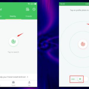 AirDroid 4 est disponible avec un mode de partage hors ligne