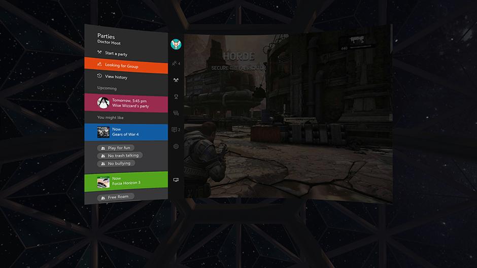 L'Oculus Rift va permettre de jouer à la Xbox One sur un écran virtuel géant