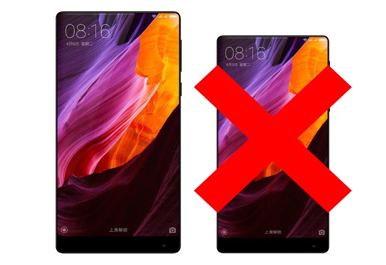 Xiaomi dément plus ou moins l'existence du Mi Mix Nano