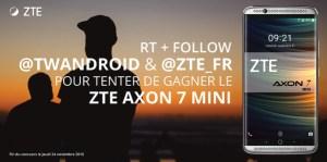 Concours : Un ZTE Axon 7 et un Axon 7 Mini à gagner