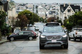 Les voitures autonomes d'Uber interdites à San Francisco après deux incidents