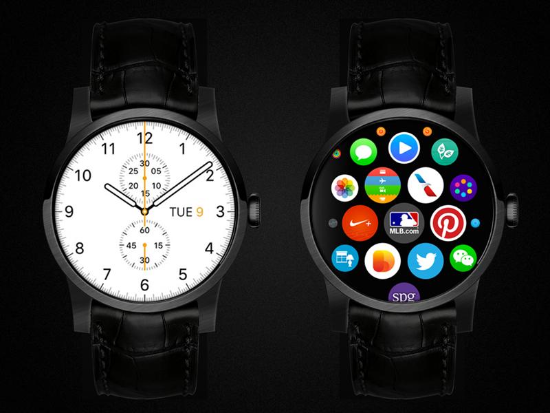 Apple Watch : un dépôt de brevet laissent entrevoir une montre ronde
