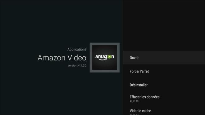 Amazon Prime Video fonctionne sur Android TV, mais pas sur la Freebox Mini 4K