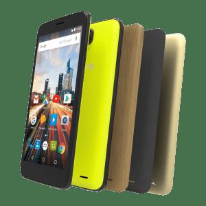 Free Mobile référence l'Archos 55 Helium 4 Seasons, un smartphone personnalisable à 99 euros