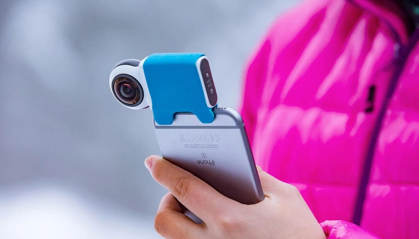 Giroptic iO : une caméra qui filme à 360 degrés pour votre smartphone
