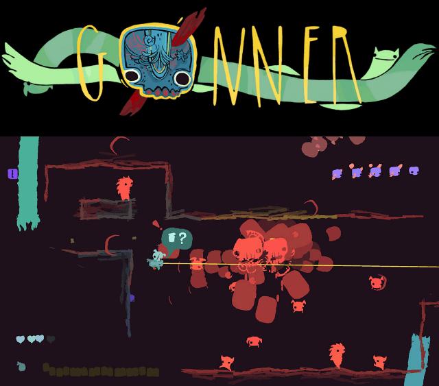 GoNNER, un rogue-like glauque et exigeant sur la Shield