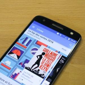 Des changements pour le mode nuit de Google Play Livres