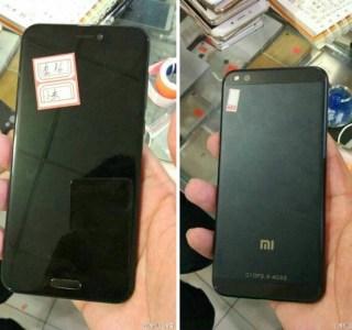 Le Xiaomi Mi 6 ressemblerait au Mi Note 2 en plus petit