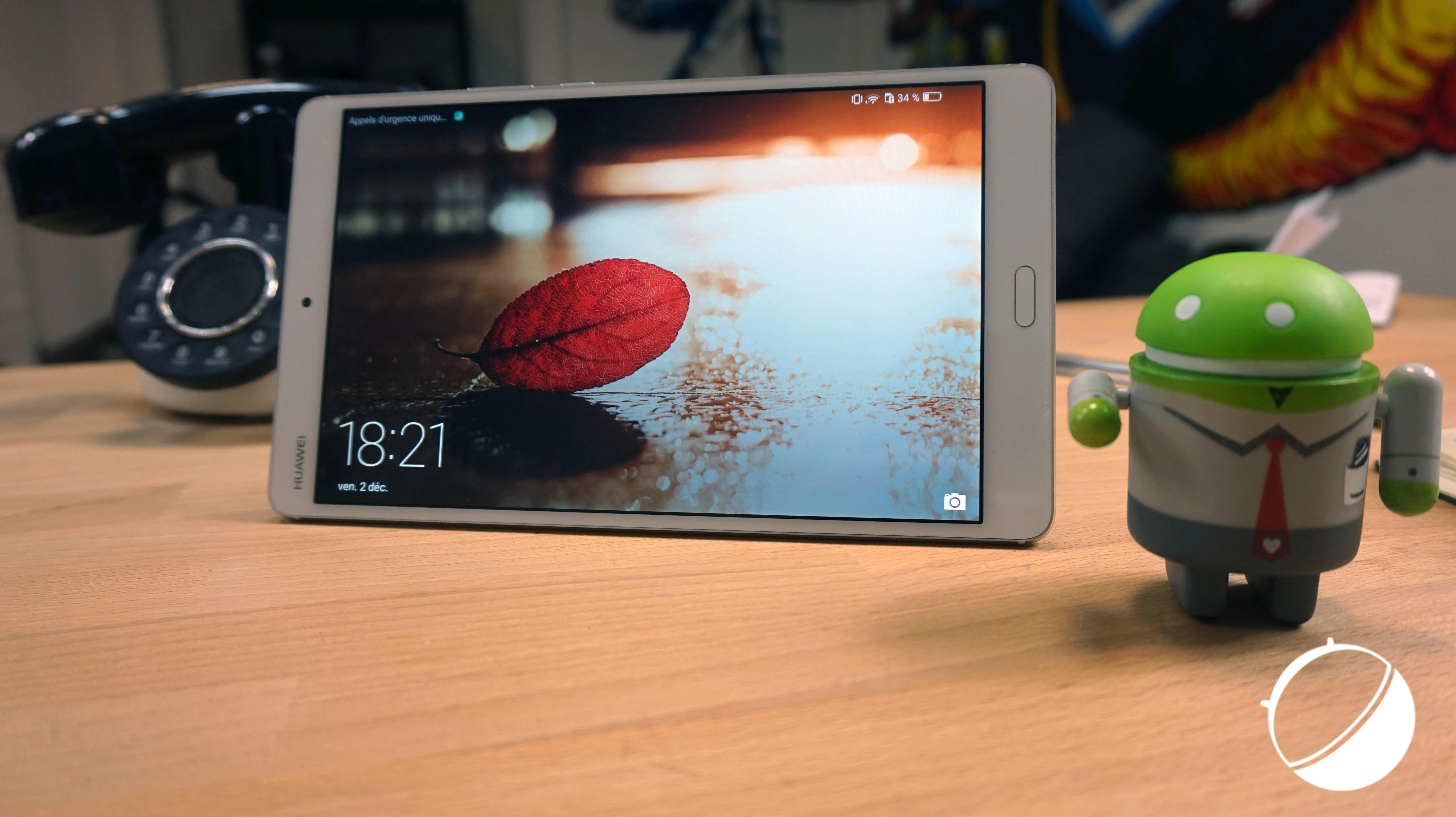 Test de la Huawei MediaPad M3 : la tablette au bon rapport qualité-prix