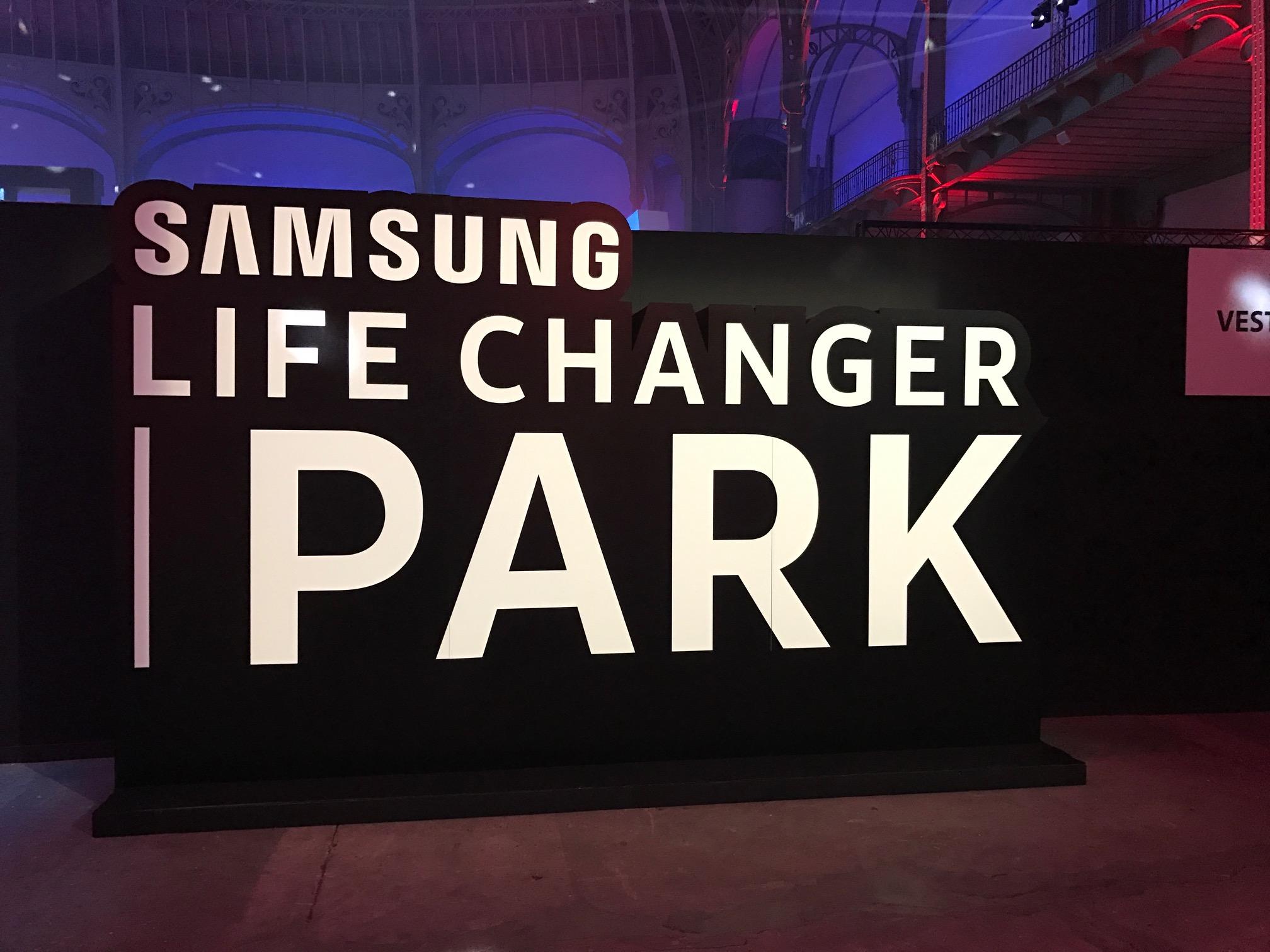 Nous avons visité le Samsung Life Changer Park au Grand Palais, un parc d'attraction gratuit dédié à la VR