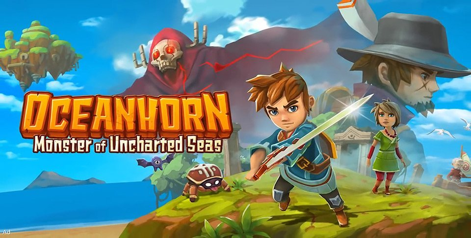 Oceanhorn : le zelda-like enfin disponible sous Android