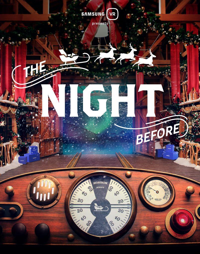 Regardez « The Night Before », la vidéo de Samsung en réalité virtuelle