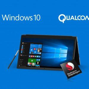 Qualcomm Snapdragon 1000 : gros gain de puissance attendu pour les ordinateurs Windows 10