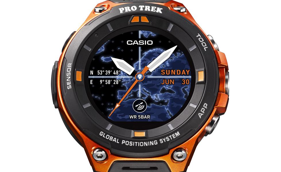 CES 2017 : Casio dévoile sa première montre sous Android Wear 2.0, la WSD-F20